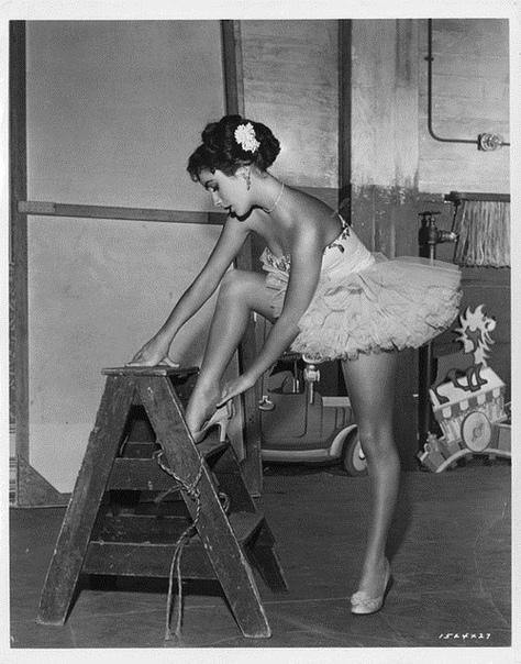 Чёрно-белое фото Элизабет Тэйлор в девятнадцать лет