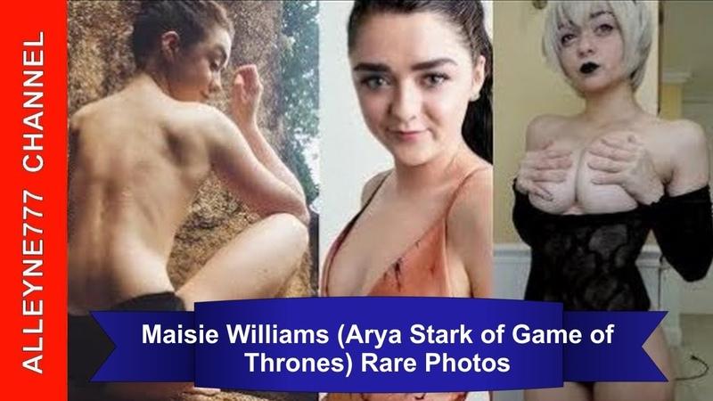 Maisie Williams (Arya Stark of Game of Thrones) Rare Photos