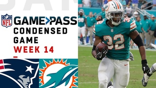 Patriots vs. Dolphins   Week 14  NFL Game Pass Condensed Game of the Week