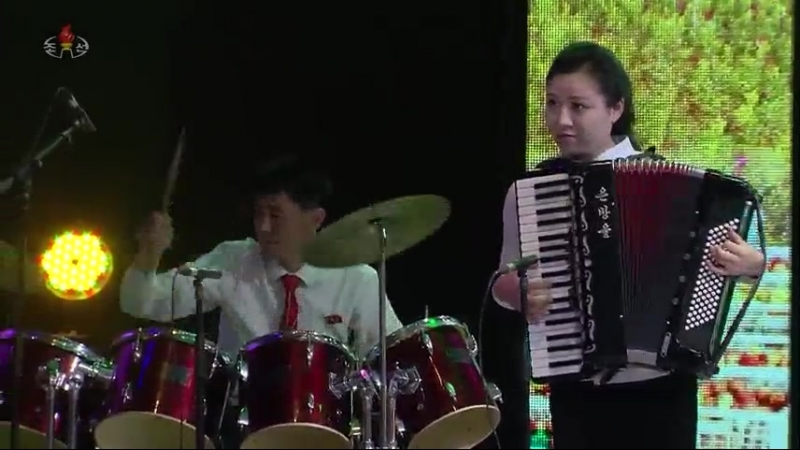 제16차 전국근로자들의 노래경연 농민부류 독창종목 준결승