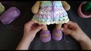 Туфельки для Мишки тильды.Мастер класс