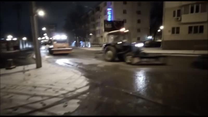 20.11.2018. Уборка снега ул.Комарова