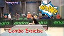 Backhand Push Forehand Loop Forehand Topspin——Yangyang's table tennis lessons