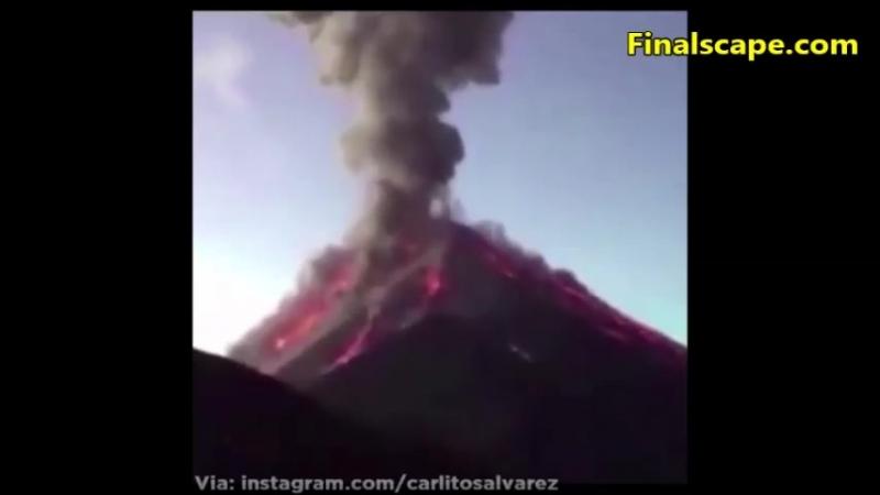 Environnement : Guatemala : 109 morts trois jours après l'éruption du volcan de Feu