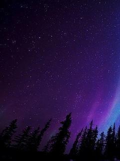 Ночное небо.