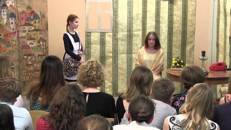 2015_05_22 - спектакль Безымянная звезда 10 класс ч. 2/3