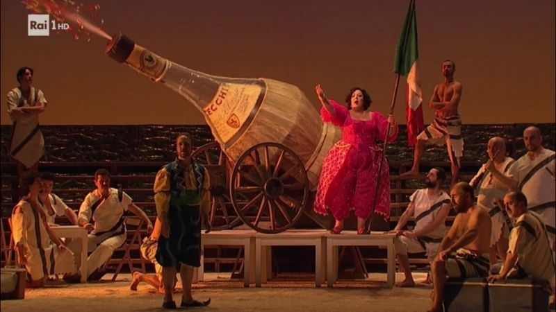 Gioachino Rossini - L'Italiana in Algeri / Итальянка в Алжире (Firenze, 2016) ita.sub.