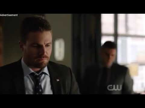 Arrow 6x18/Oliver talks Adrian in his hallucination/Felicity talks to William and Mr.Lance
