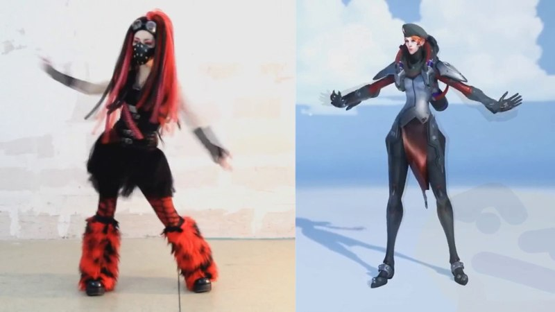 Moira is a cybergoth confirmed