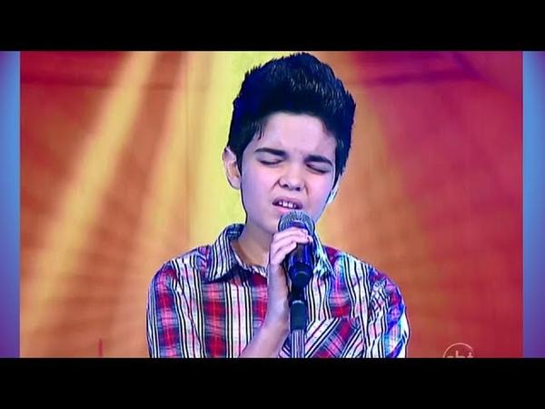NATAN - Hurt • Jovens Talentos - Raul Gil (02/11/13)
