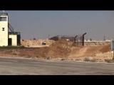 Первое видео с иорданской границы после освобождения перехода Насиб сирийской армией. Дараа