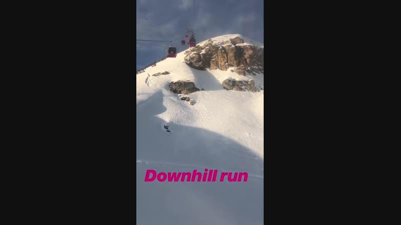 Downhill run Otto 19.01