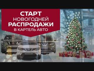 Картель авто. Новогодние распродажи
