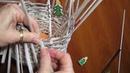 Поделки из газетных трубочек для начинающих Как крутить трубочки Сделать Корзинку Поделки с детьми