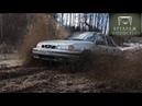 WorkМобиль. Езда в болоте. Порвали тросы! Daewoo Nexia тестдрайв по бездорожью