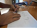 Урок по рисованию манги 4 - Рисуем волосы и уши by Musicfuns
