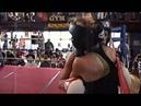 Female Boxing - blonde kicks ass