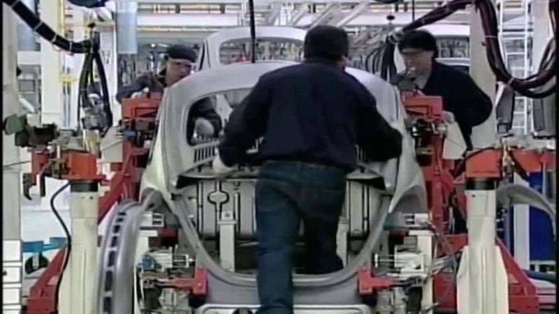 Fabricação de fuscas no Mexico
