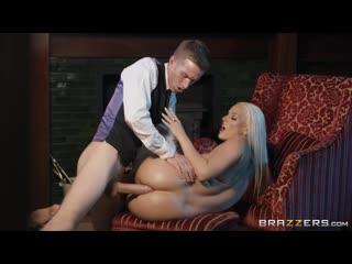 Огромный хуй член Дэнни Д ебет в анал жопу попу Blanche Bradburry порно секс кончил сперму бразерс Danny D Brazzers anal porn HD