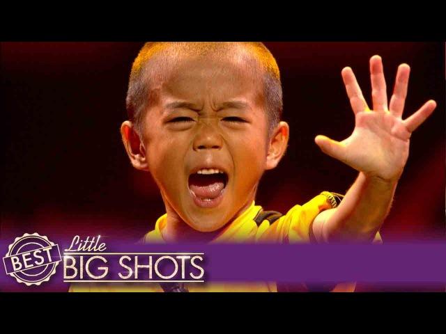 Ryusei: Tiny Bruce Lee Impessionist! | Belgium Little Big Shots