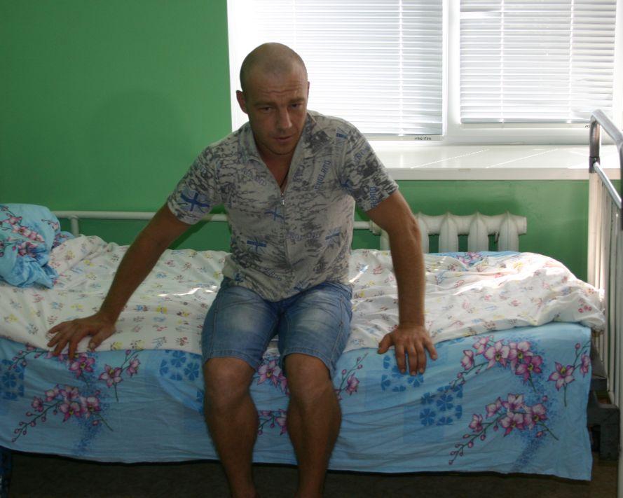 Андрей, первый пациент в Запорожской области, которому была проведена операция по удалению опухоли головного мозга методом ультразвуковой аспирации