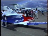 BD-5 Jet Airplane Display New Zealand 1992.
