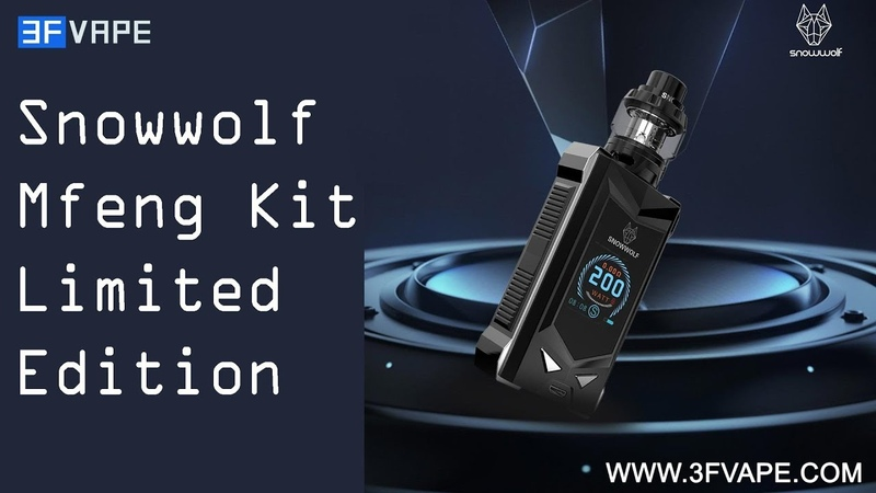 Snowwolf Mfeng 200W Kit Limited Edition