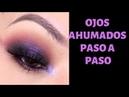 MAQUILLAJE DE NOCHE MORADO CON GLITTER PASO A PASO| Makeupbyive