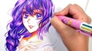 No Erasing | Colorful Ballpoint Pen Artwork | Cheap Art Supply