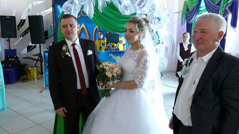 Весілля в Терезах. Вітання батьків. ( 21|04|2018 ) - ZOOM