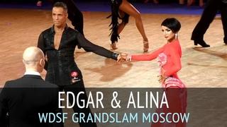 Edgar Marcos Borjas & Alina Nowak   Ча-ча-ча   2018 GrandSlam Latin в Москве