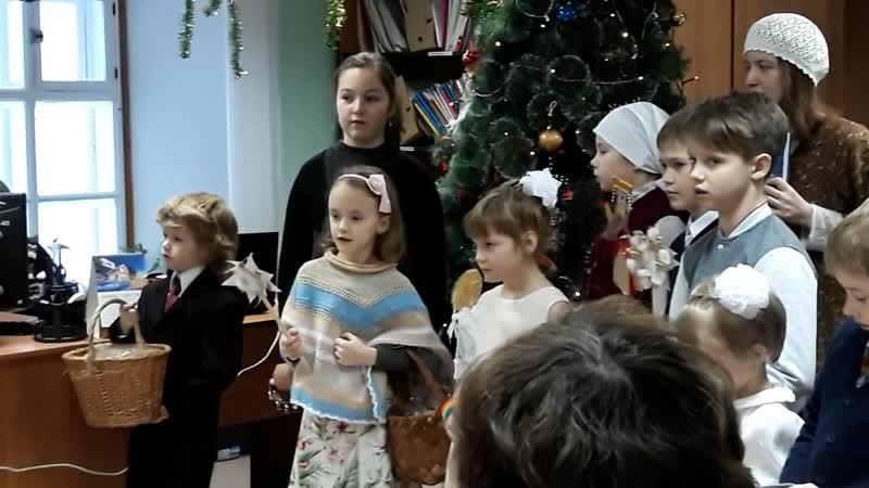 Рождество Христово 2017 г. Поздравления детей в соловецком музее.