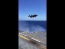 Осторожная посадка на авианосец истребителя вертикального взлёта