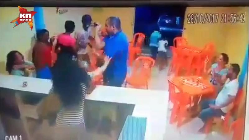 Ревнивец одним ударом убил бразильянку на глазах у детей