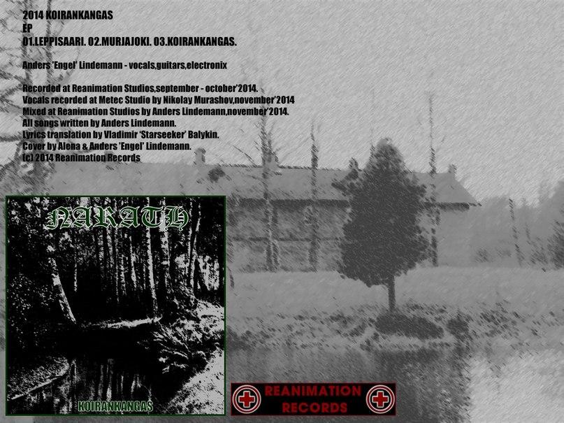 Новый EP проекта NARATH - Koirankangas (2014)