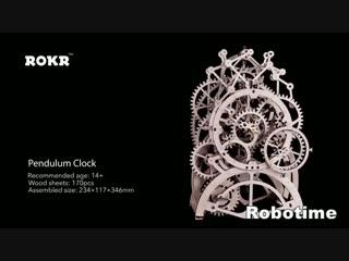 Сборная деревянная модель часов