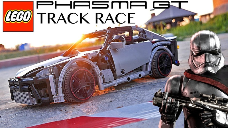 LEGO Technic Sportcar - SW Phasma GT - Track Race