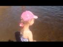 Кира на пляже