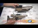 SRC XR8-2 AEG Series 6mm Airsoft Rifle Field Strip Assemble step