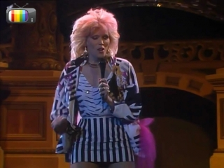 Amanda Lear - No Credit Card (Àngel Casas Show 1985)