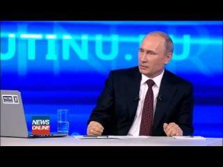 Путин: Медведев в контакте с Яйценюком. Прямой эфир [17.04.2014]