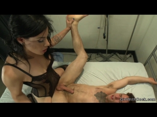 Tranny anal fucks guy in lingerie (красотки shemale   трансы ts ladyboy трапы sissy trap crossdresser tranny porno sex anal)