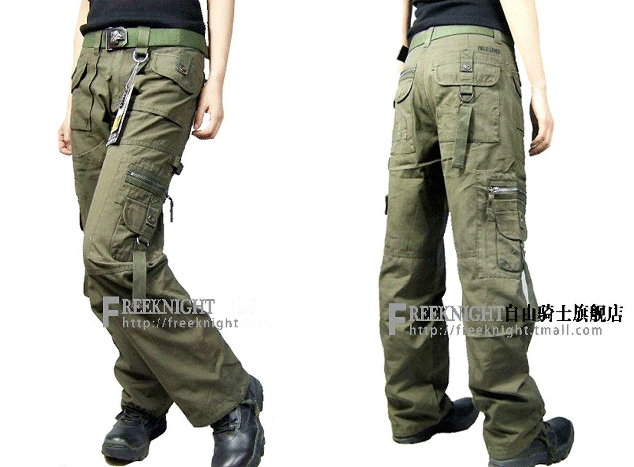 Одежда милитари для женщин 11