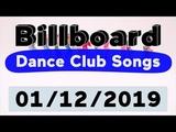 Billboard Top 50 Dance Club Songs (January 12, 2019)