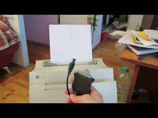Как подключить принтер c LPT разъемом в USB.