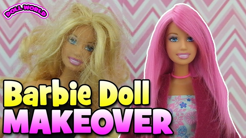 Barbie Doll Yarn Reroot How to Make Yarn Wefts
