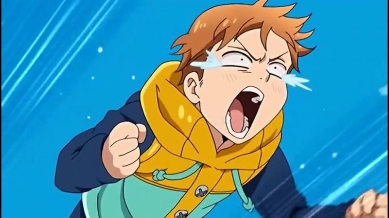 Момент из аниме |Семь смертных грехов, Nanatsu no Taizai|