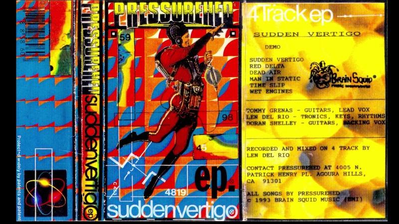 Pressurehed Sudden Vertigo Demo Cassette 1993