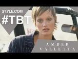 Amber Valletta: The Original Waif - #TBT With Tim Blanks