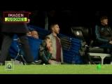 Серхио Рамос в подтрибунном помещении в концовке матча Реал Мадрид - Ювентус